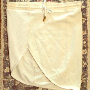 Free People Asymmetrical Cut Mini Skirt